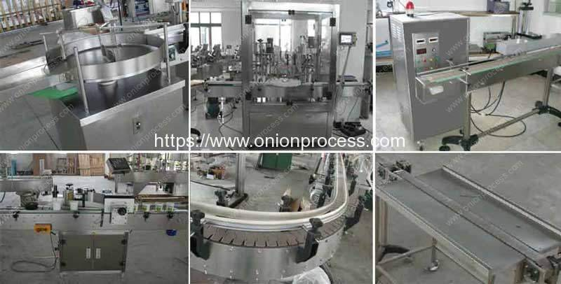 Automatic-Onion-Powder-Bottle-Filling-Capping-Machine