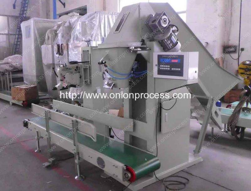 Full Automatic Onion Mesh Bag Packing Machine