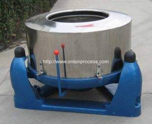 Batch Type Centrifugal Type Onion Dehydrate Machine