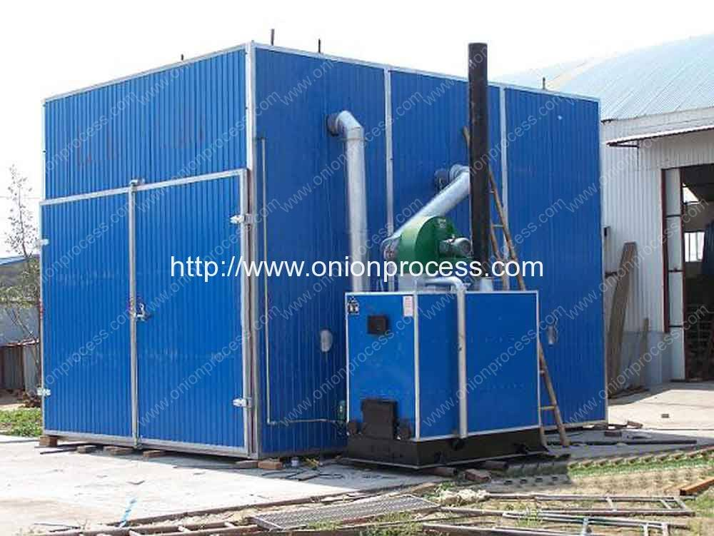 Onion Hot Air Drying House