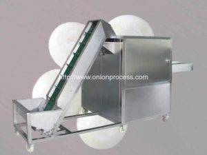 Full Automatic Onion Slicing Machine with Elevator