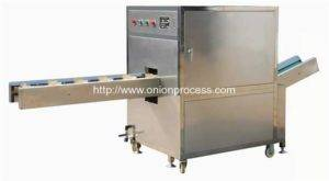 Onion Root Concave Cutting Removing Machine