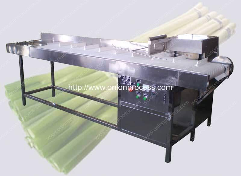 Semi-Automatic Carrot Green Leaf Cutting Machine