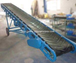 Truck Loading Mobile Rubber Belt Conveyor