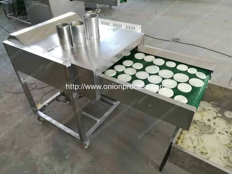 Automatic Onion Ring Cutting Machine