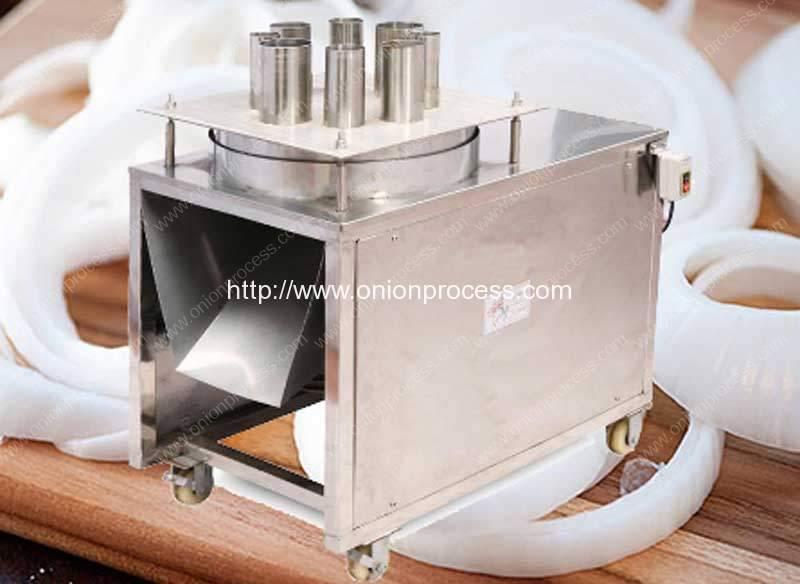 Semi-Automatic Onion Ring Cutting Machine