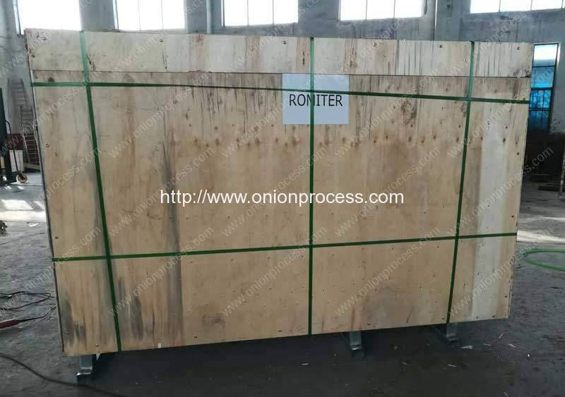 Automatic-Onion-Root-Cutting-Machine-Delivery-for-Europe-Lithuanian-Customer
