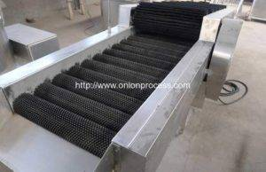 Onion-Brush-Dry-Cleaning-Machine-with-Selecting-Conveyor-for-Oman-Lulu