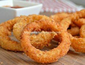 Automatic Crispy Fried Onion Rings Production Line