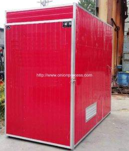 Natural Gas Fired Onion Slice Dryer Oven for Sale