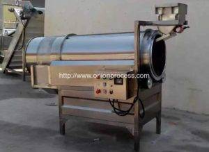 Automatic Frying Onion Crisp Seasoning Machine