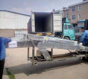 Onion-Brush-Dry-Cleaning-Machine-Delivery-for-Brasil-Customer
