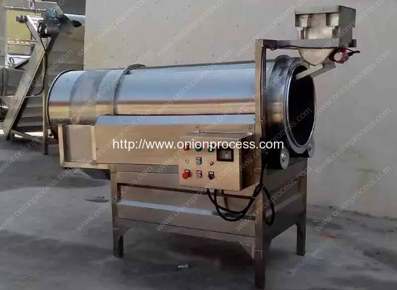 Frying-Onion-Ring-Flavoring-Machine