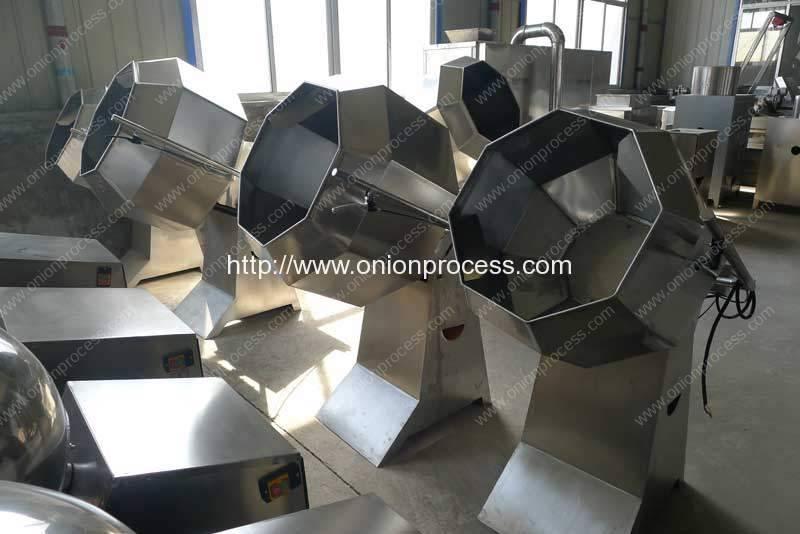 Semi-Automatic-Frying-Onion-Ring-Seasoning-Machine