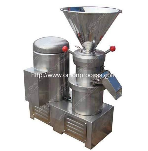 Stainless Steel Onion Paste Grinding Milling Machine