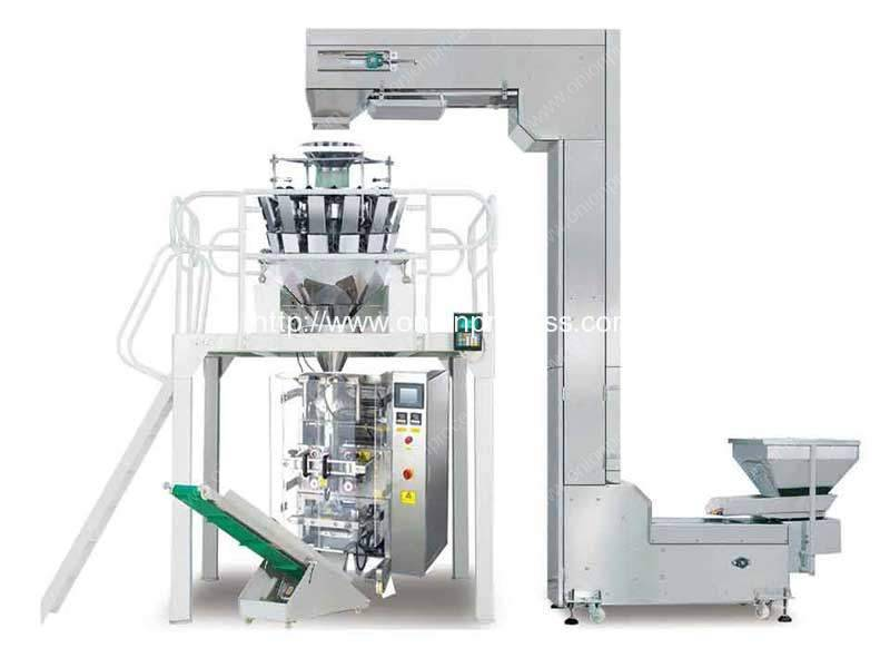 Full Automatic Fresh Onion Slice Packing Plant for Sale