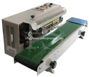 Semi-Automatic Plastic Bag Sealer Machine for Onion Slice Packing