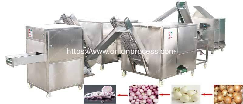 Small-Diameter-Onion-Peeling-Root-Cutting-and-Onion-Slicing-Machine