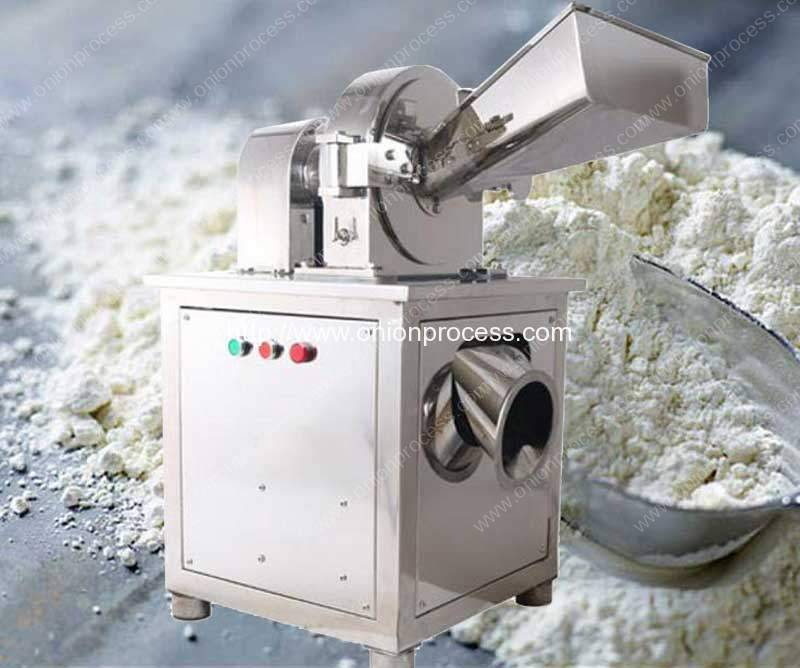 Water Cooling Stainless Steel Onion Powder Grinder Machine