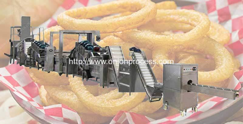 Small Frying Onion Ring Production Line for Sale