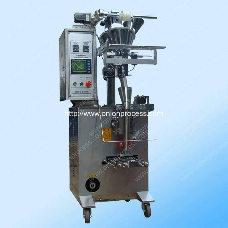 Screw Feeding Onion Powder Small Bag Packing Machine for Sale
