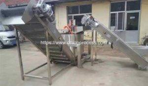 Continuous-Working-Down-Discharge-Frying-Machine-De-Oiling-Machine-Manufacture