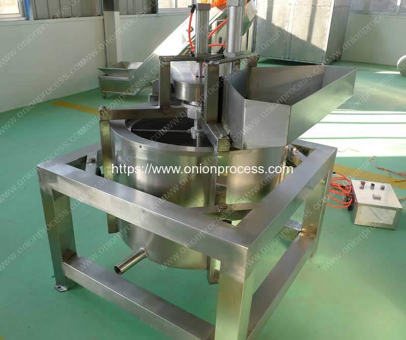 Continuous-Working-Frying-Onion-Crisp-De-Oiling-Machine-Romiter-Machinery