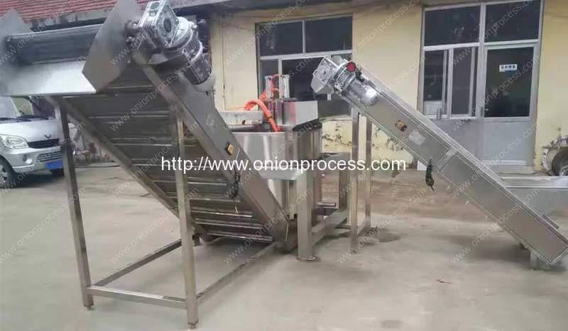 Continuous-Working-Centrifugal-Water-Dehydrator-Machine for Garlic Slice and Onion Slice