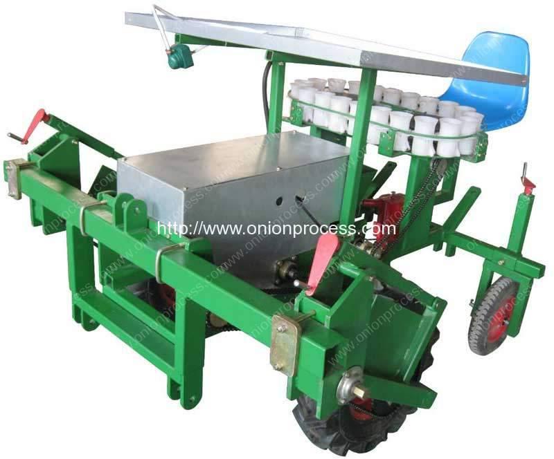Single-Raw-Automatic-Onion-Transplanter-Machine