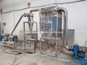 Continuous Working Onion Powder Grinding Machine with Dust Collector