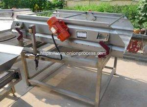 Automatic Frying Onion Crisp Vibrate Oil Removing Machine