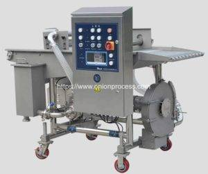 Automatic Onion Ring Batter Coating Machine
