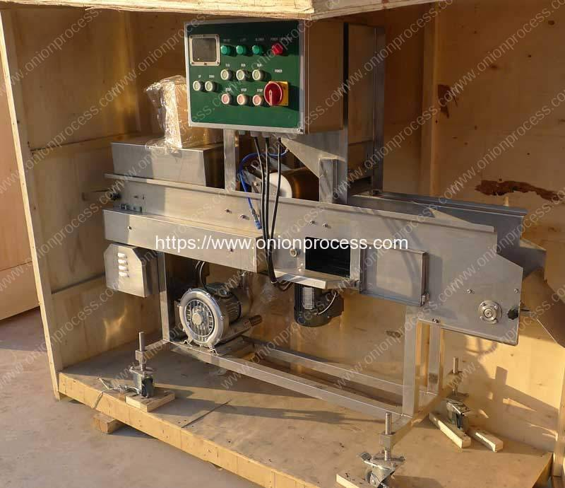 Onion-Ring-Battering-Machine-Delivery-for-India-Customer