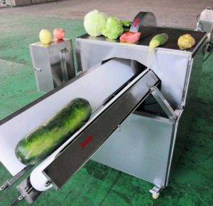 Automatic-Vegetable-Half-Cutting-Machine
