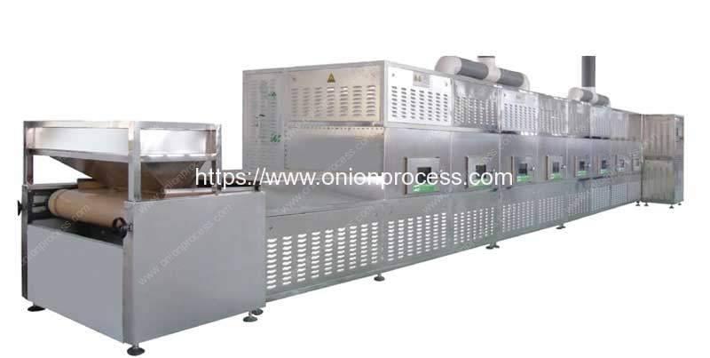 Automatic-Onion-Powder-Microwave-Sterilizer-Machine