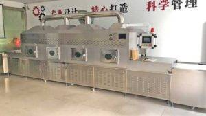 Automatic Tunnel Type Onion Powder Microwave Sterilizer