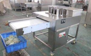 Automatic Onion Ring Cutting Machine for Ireland Customer