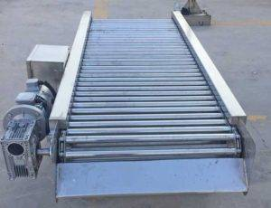 Rolling-Rod-Type-Onion-Peel-Removing-Selection-Conveyor