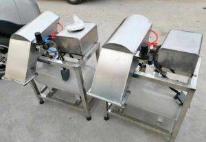 Automatic-Spring-Onion-Peeling-Machine-with-Root-Cutting