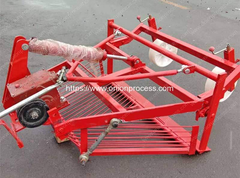 Front Mount Onion Harvester Machine