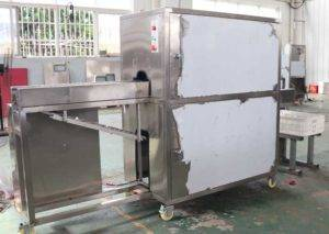 Automatic-Onion-Root-Concave-Cutting-and-Peeling-Machine-for-Macedonia-Customer