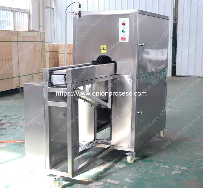 Commerical-Onion-Root-Cutting-and-Peeling-Machine