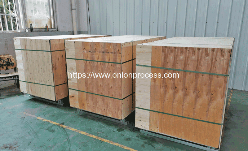 Automatic-Reciprocate-Onion-Ring-Cutting-Machine-Package-for-Ukraine-Customer