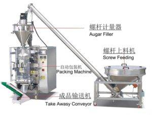 Automatic Onion Powder Dosing Packing Machine