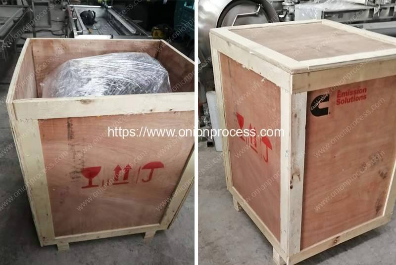 Green-Onion-Spring-Root-Cutting-and-Peeling-Machine-Plywood-Package