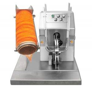 Electric Type Onion Mesh Bag Clipping Machine