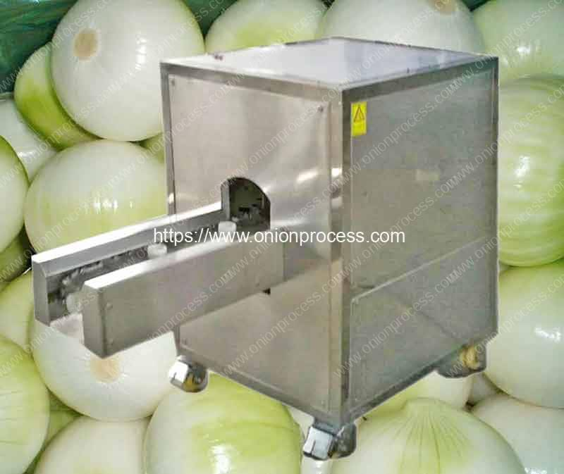 Small-Onion-Root-Cutting-and-Peeling-Machine