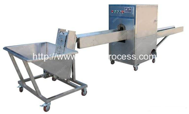 Onion Root Cutting Machine