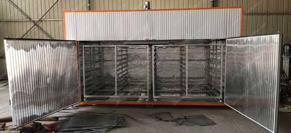 Batch-Type-Electric-Type-Onion-Slice-Dryer-Oven-Internal-Trolley