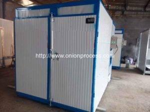 Coal Fired Hot Air Onion Dryer Machine